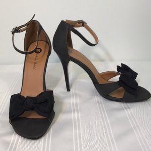Michael Antonio Size 9 Black High Heels Stilettos